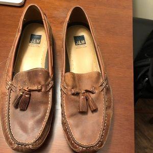 Johnston & Murphy tassel loafers